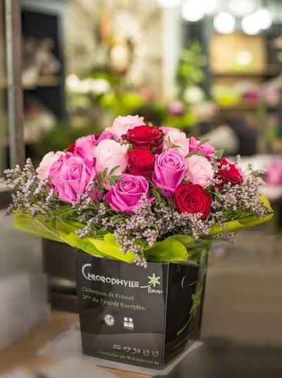 Bouquet de fleurs Chinon