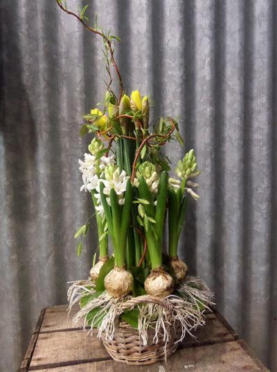 Composition florale Chinon