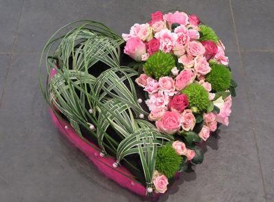 Composition personnalisée fleurs Chinon